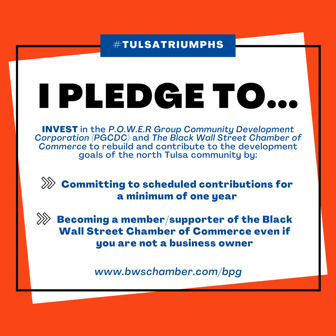 pledge graphic - black wall street chamber