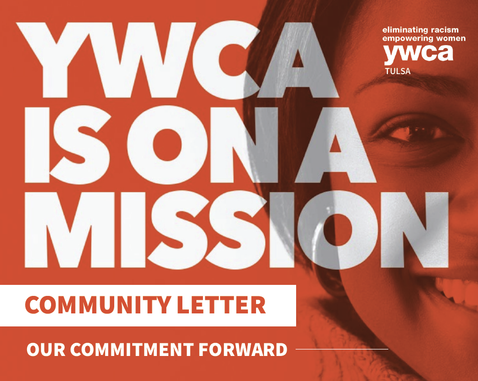 cover for ywca tulsa community letter